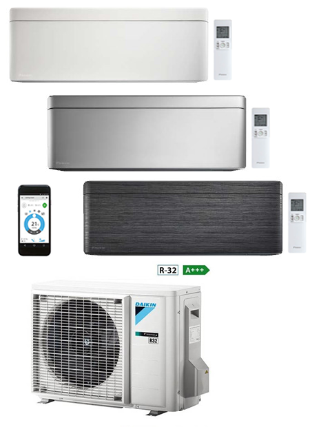 DAIKIN STYLISH SILVER (FTXA25AS / RXA25A)
